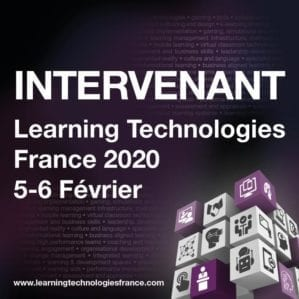 Come meet with us at Learning Technologies 2020 in Paris !