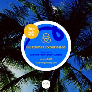 Top20 LMS basé sur l'Experience Client 2020 | eLearning industry