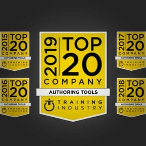 Top 20 Authoring Tool 2019 | Training Industry